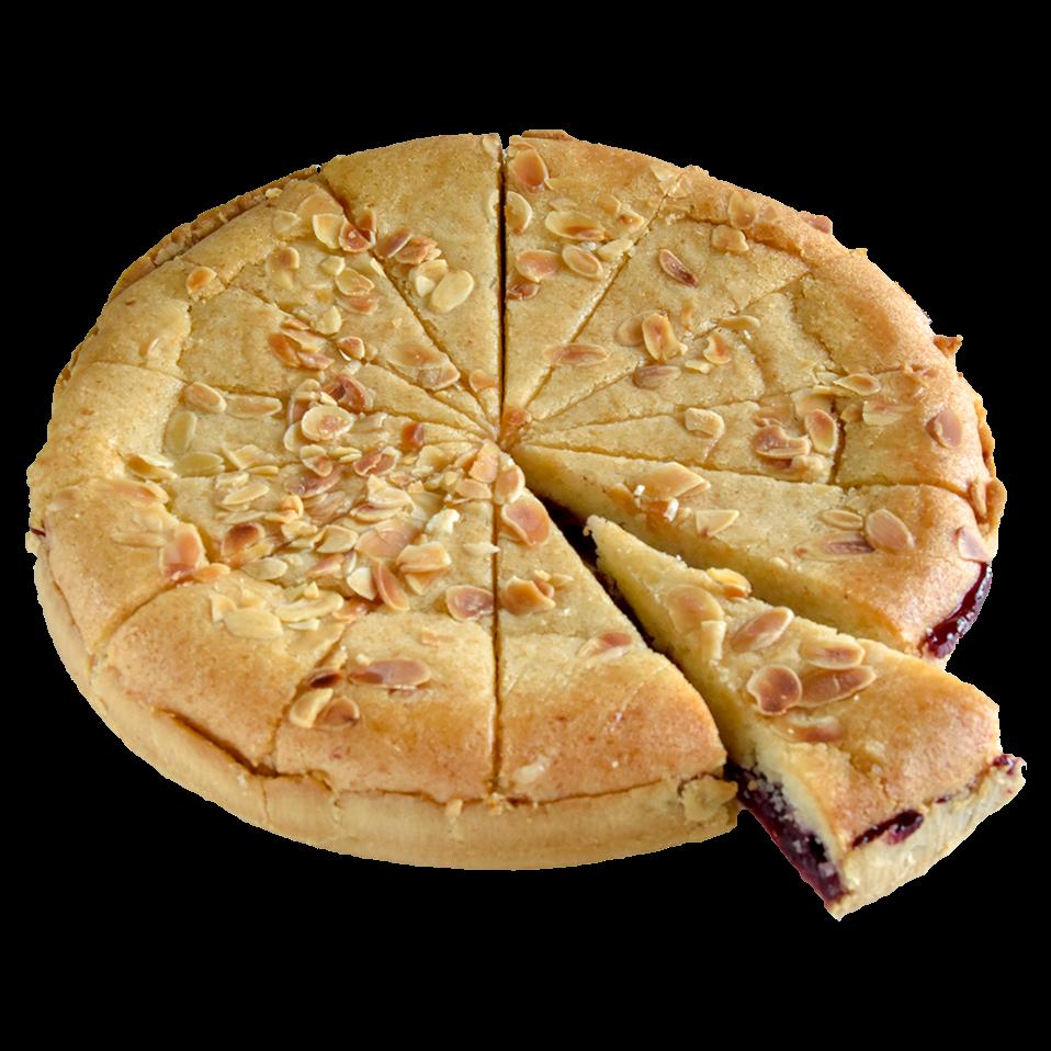 Productafbeelding VEGAN Cherry Bakewell Taart Glutenvrij - 14 punten