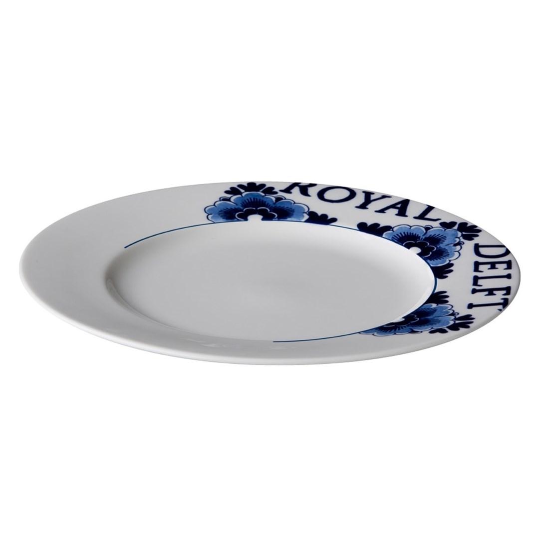 Productafbeelding Royal Delft bord met rand 27 cm
