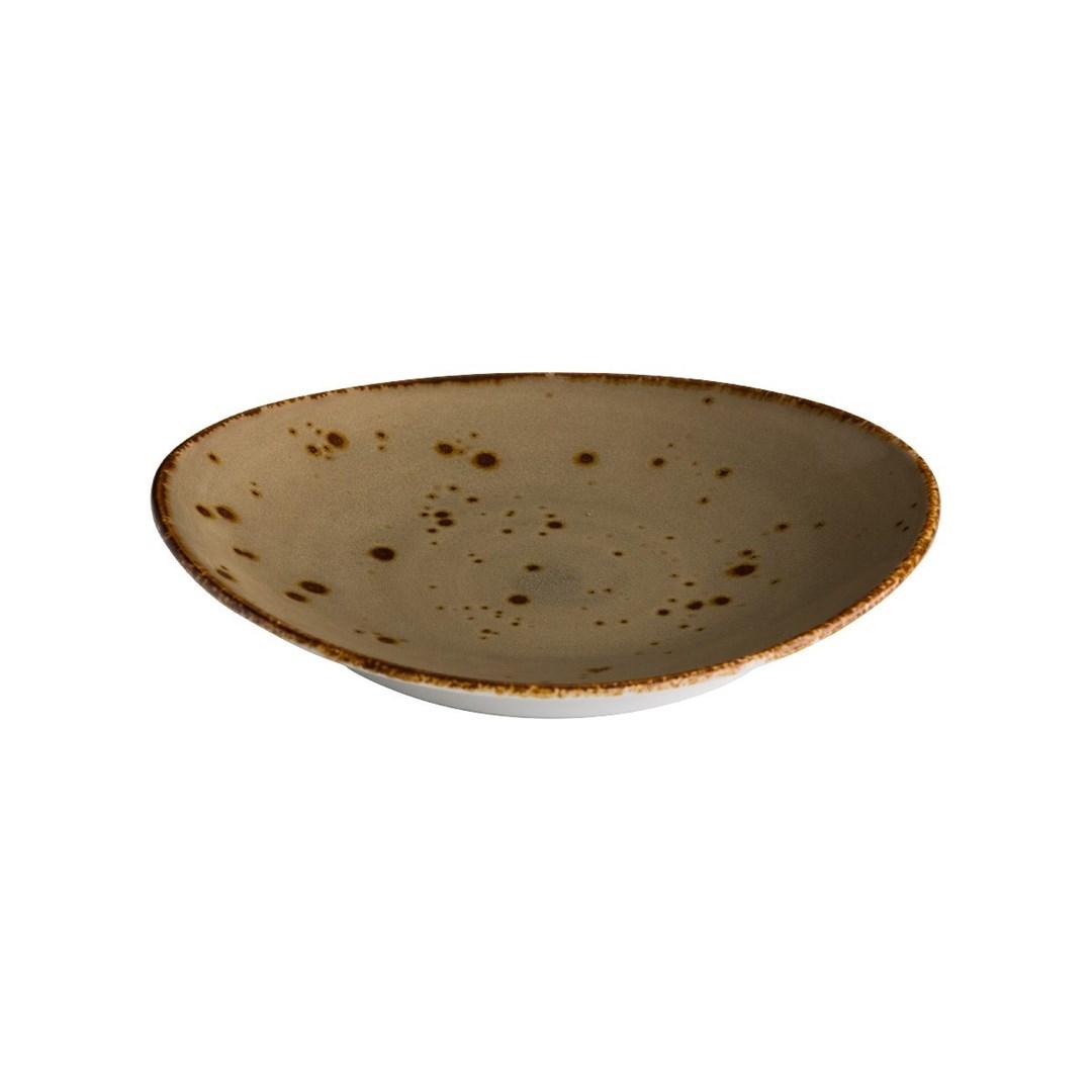Productafbeelding Ovaal bord reactive sand 30 x 25,5 cm