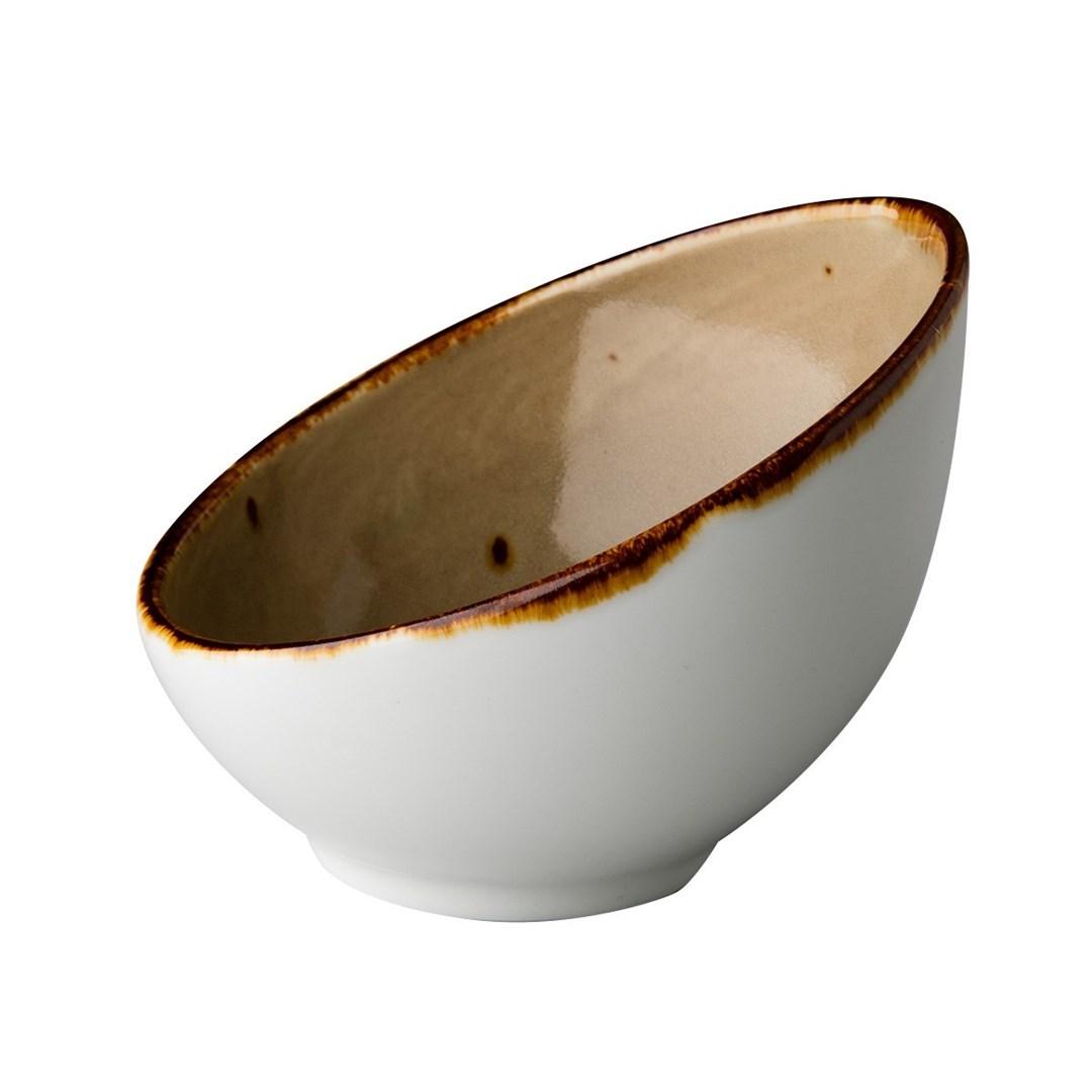 Productafbeelding Schuine kom sand 12 cm