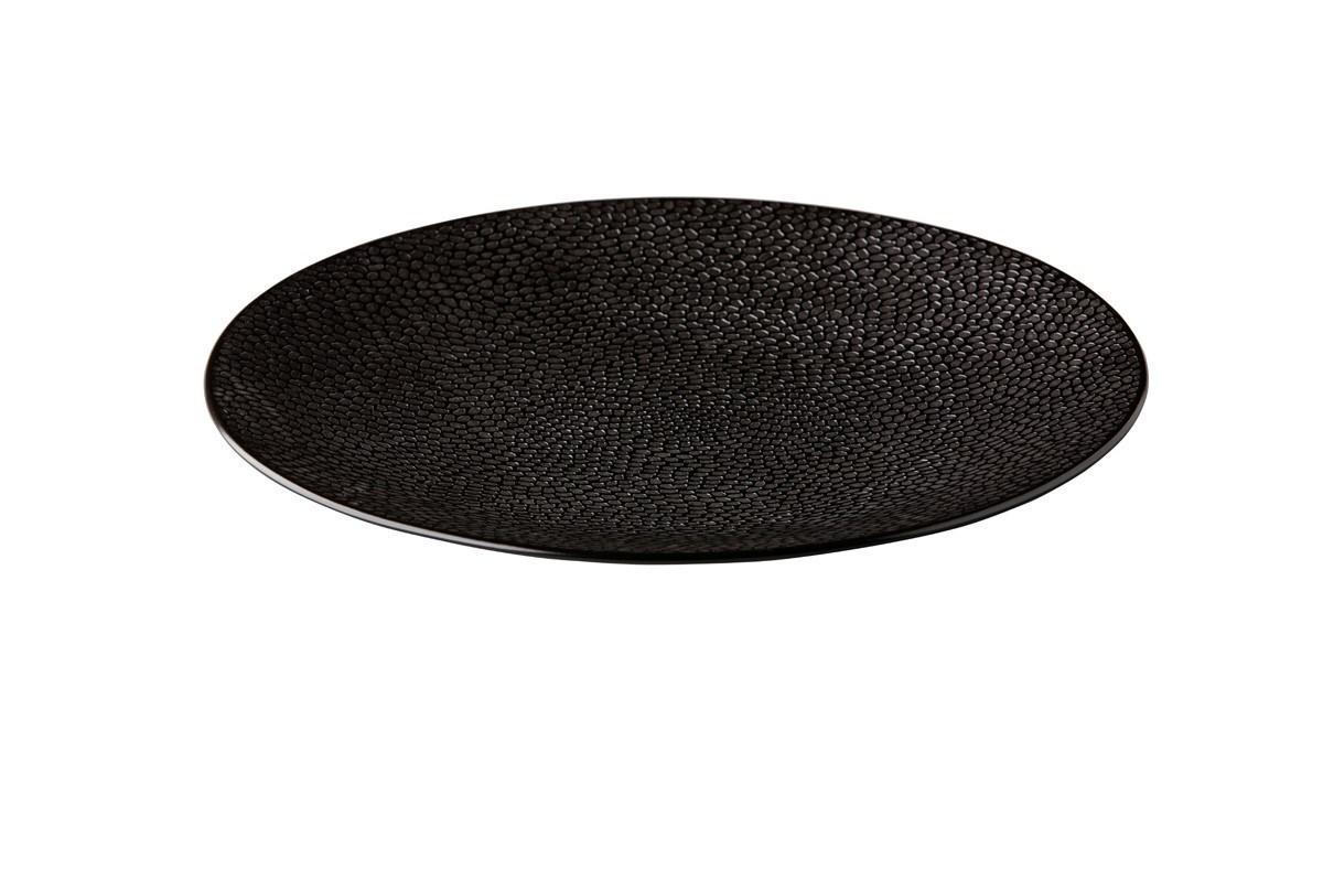 Productafbeelding Coupe bord Honeycomb Black 27,5 cm