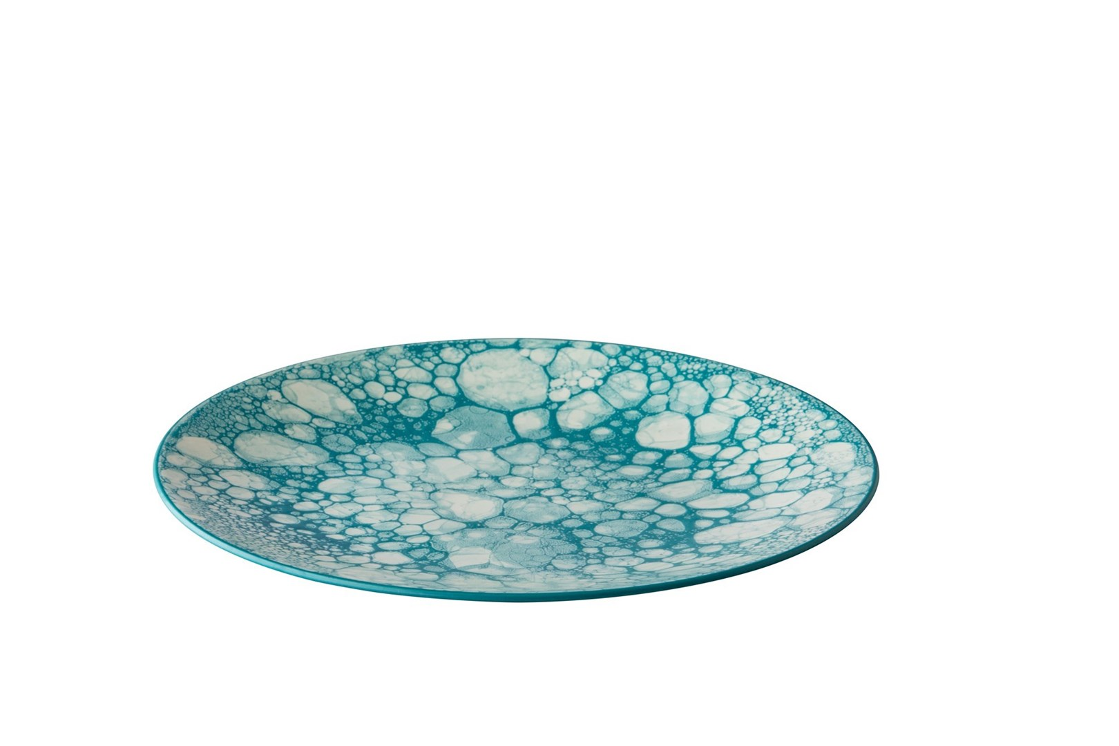 Productafbeelding Bord Bubble turquoise 27,5 cm