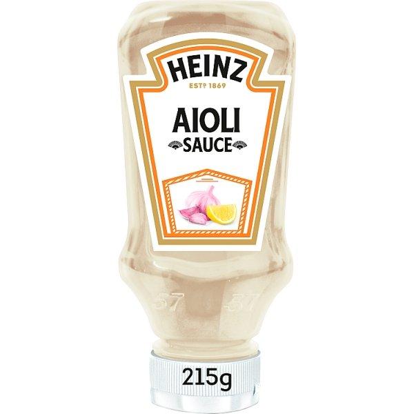 Productafbeelding Heinz Saus Aioli 215 g Fles