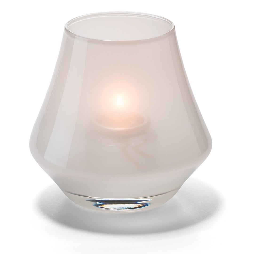 Productafbeelding Conische lamp glas wit mat 5 x 9 cm