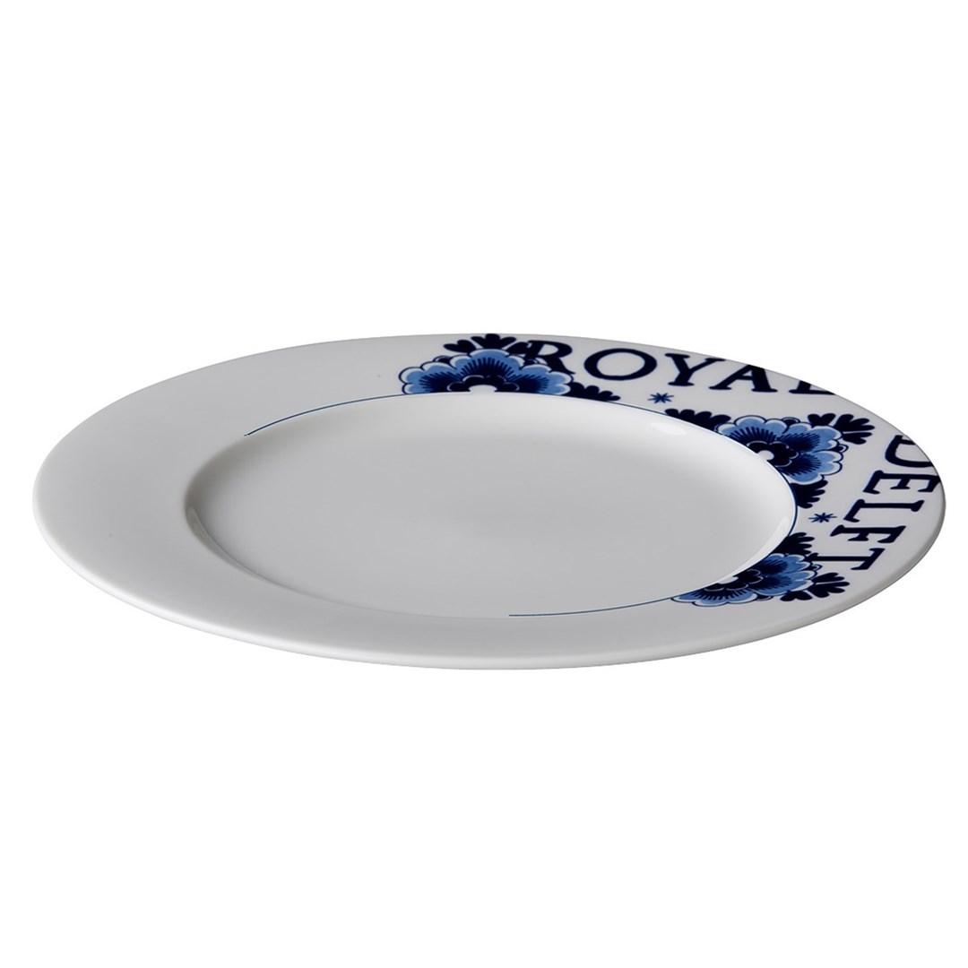 Productafbeelding Royal Delft bord met rand 30,5 cm