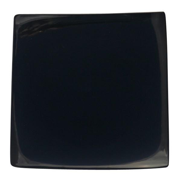 Productafbeelding Simply bord vierkant zwart 27,5 cm