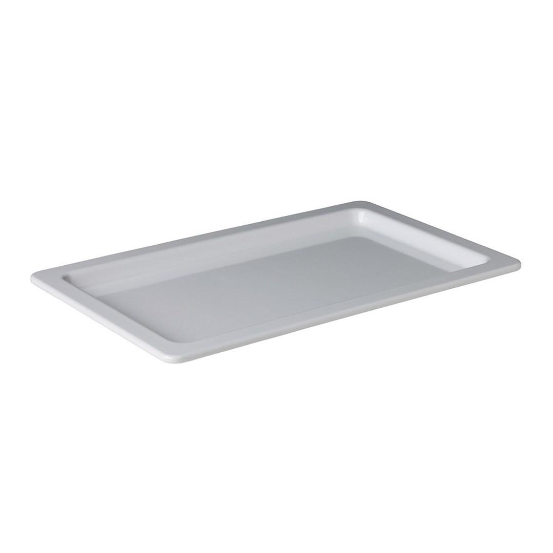 Productafbeelding GN 1/1 plateau diep wit 53 x 32,5 x 3 cm