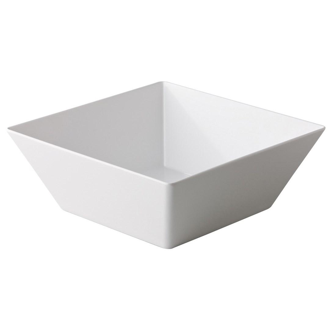 Productafbeelding Vierkante bak wit 30 x 30 x 11,5 cm