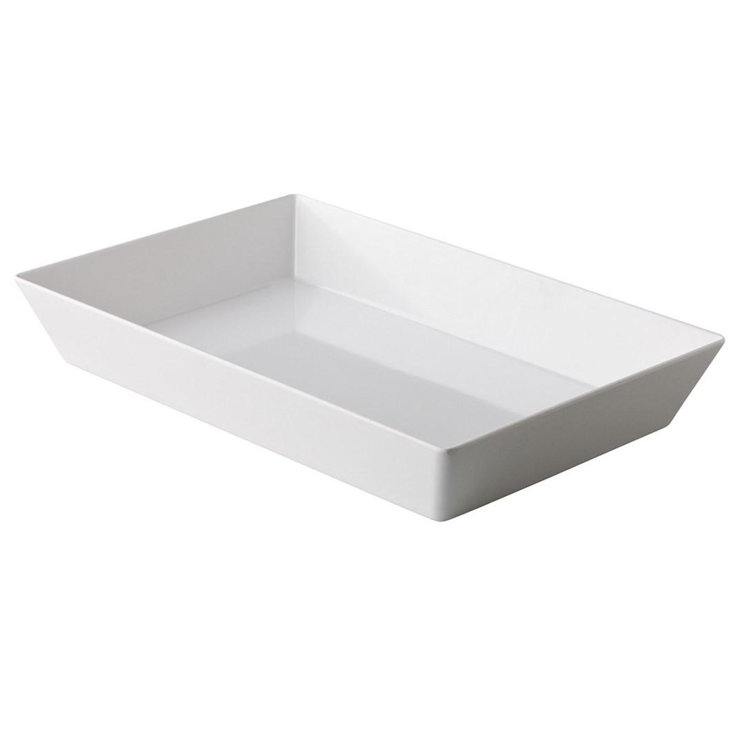 Productafbeelding Rechthoekige bak wit 25 x 15 x 7 cm