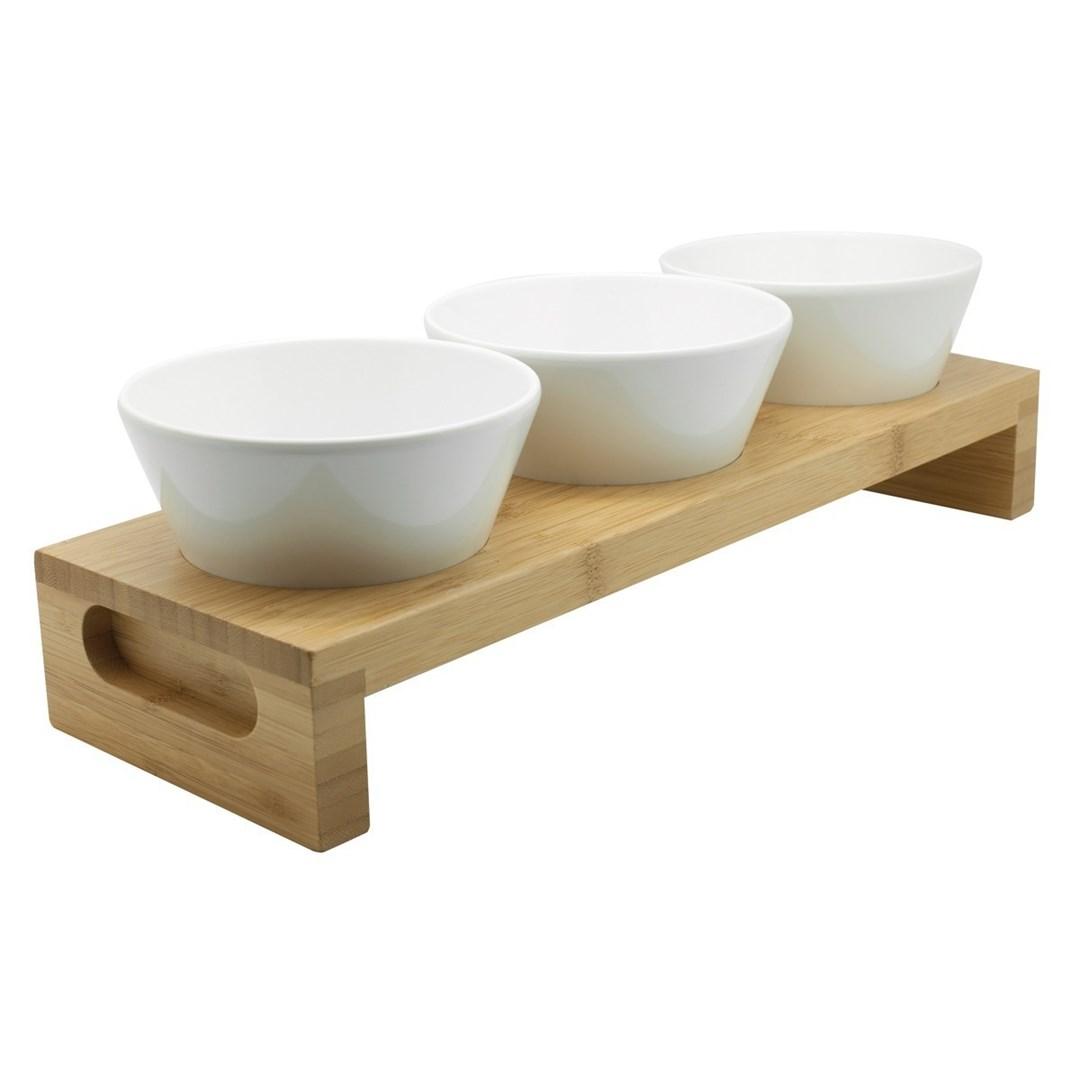 Productafbeelding Bamboo plank tbv conische bakjes 13 x 11,5 x 3 cm
