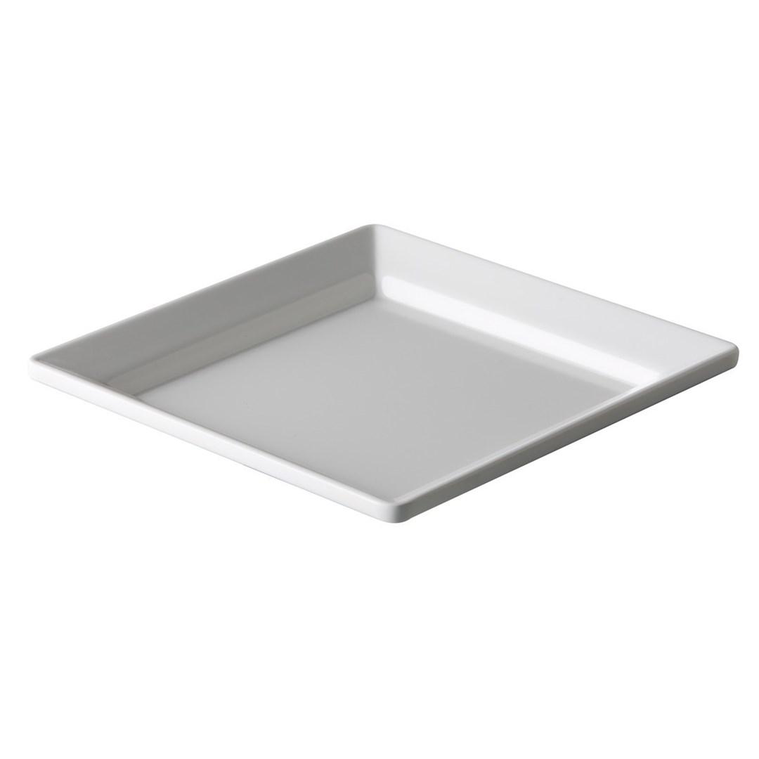 Productafbeelding Vierkant bord heavy duty wit 20,3 cm