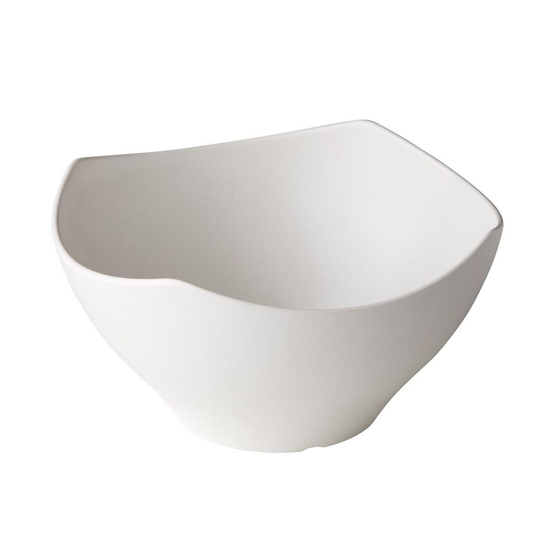 Productafbeelding Schaal Zen Square crème 28 cm