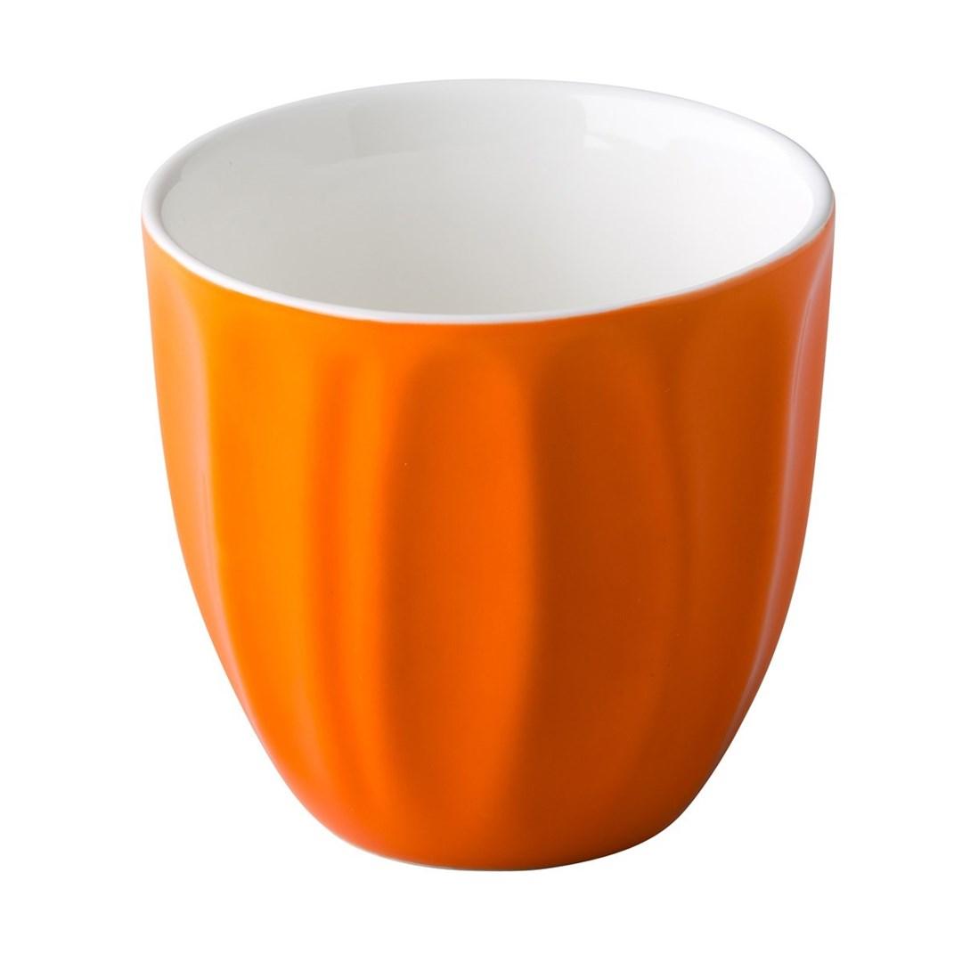 Productafbeelding Coffeepoint stapelbare koffiekop oranje 180 ml
