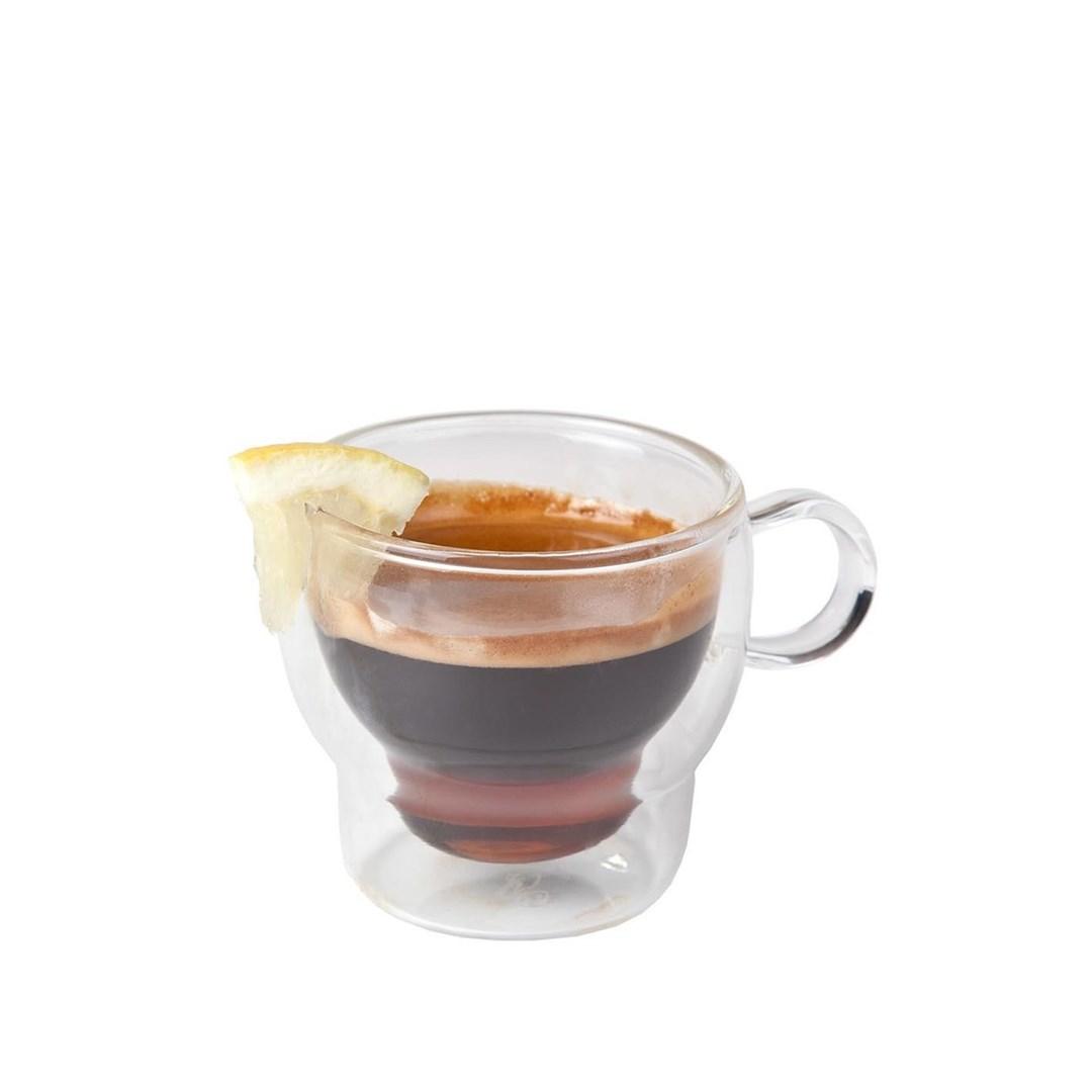 Productafbeelding Koffie-theeglas dubbelwandig 120 ml