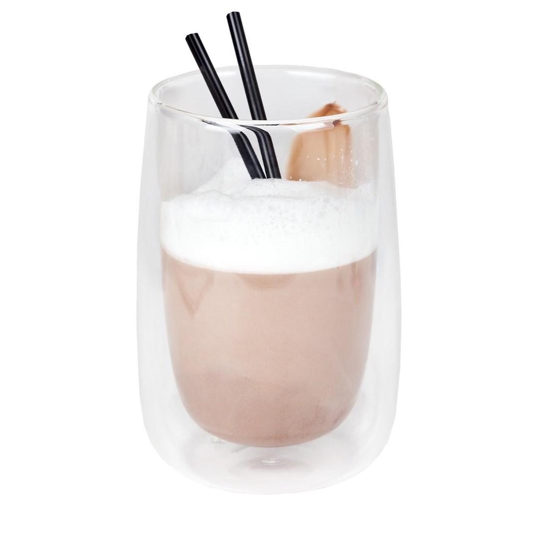 Productafbeelding Koffie-/theeglas zonder handvat dubbelw. 400 ml