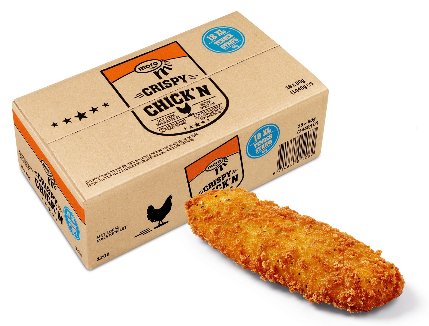 Productafbeelding 1208 Crispy Chick'n Tender Strips 1440g