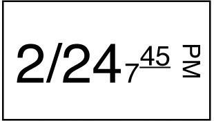 Productafbeelding Stickerrol 1-lijnspistool diepvries 1000/rol