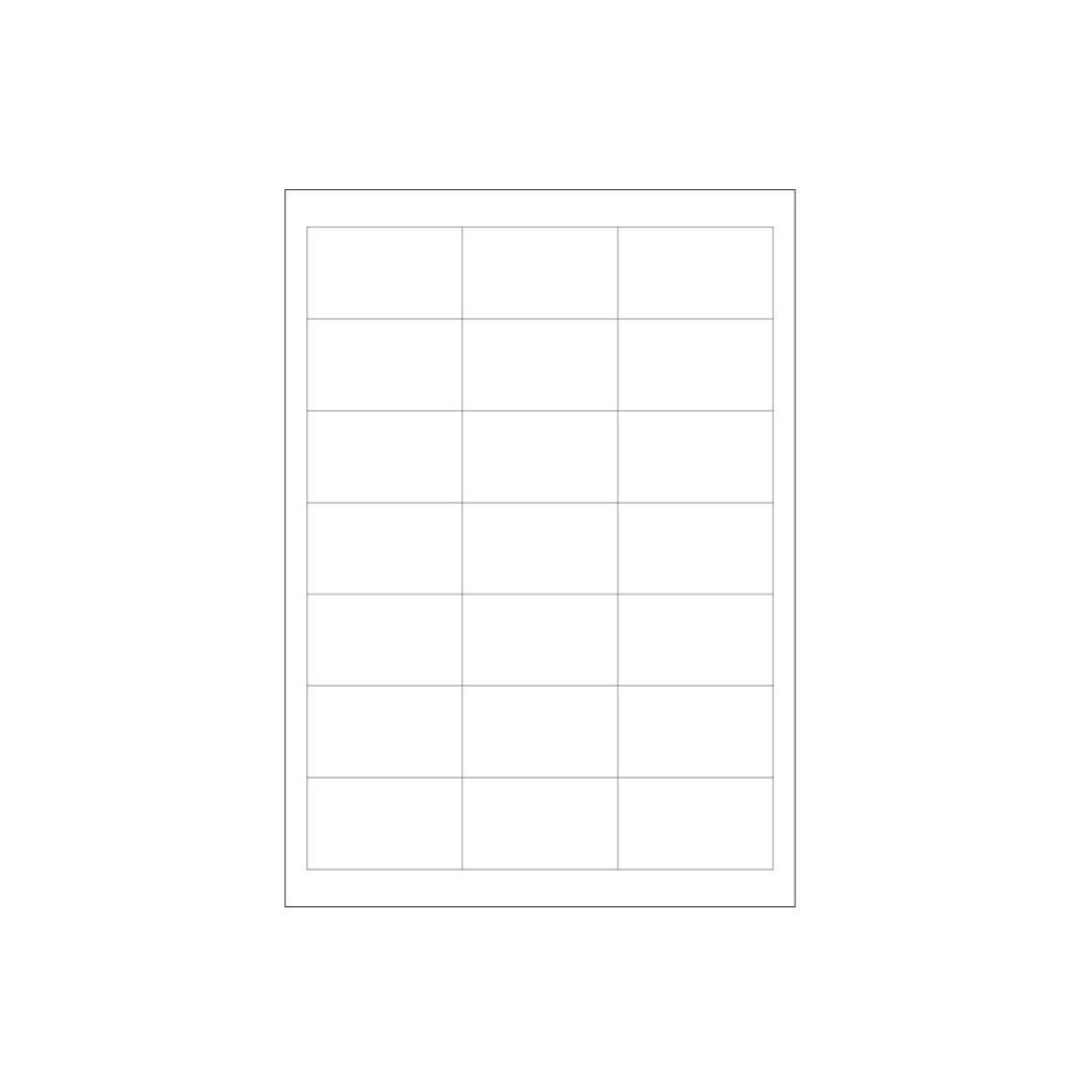 Productafbeelding Volledig oplosbare stickers A4 vel 100/doos