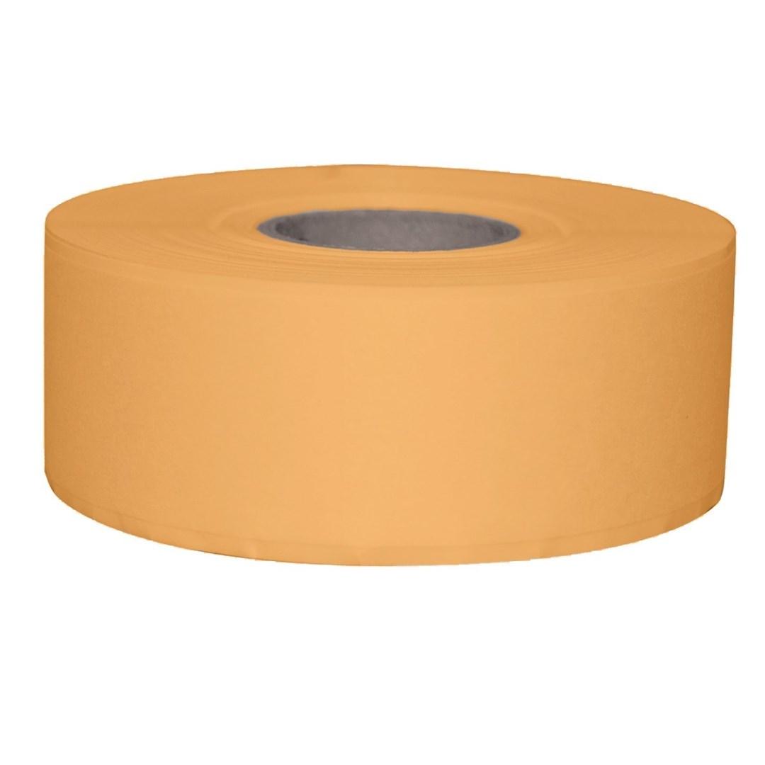 Productafbeelding Stickerrol 2-lijnspist. vol. oplosb. geel 750/rol
