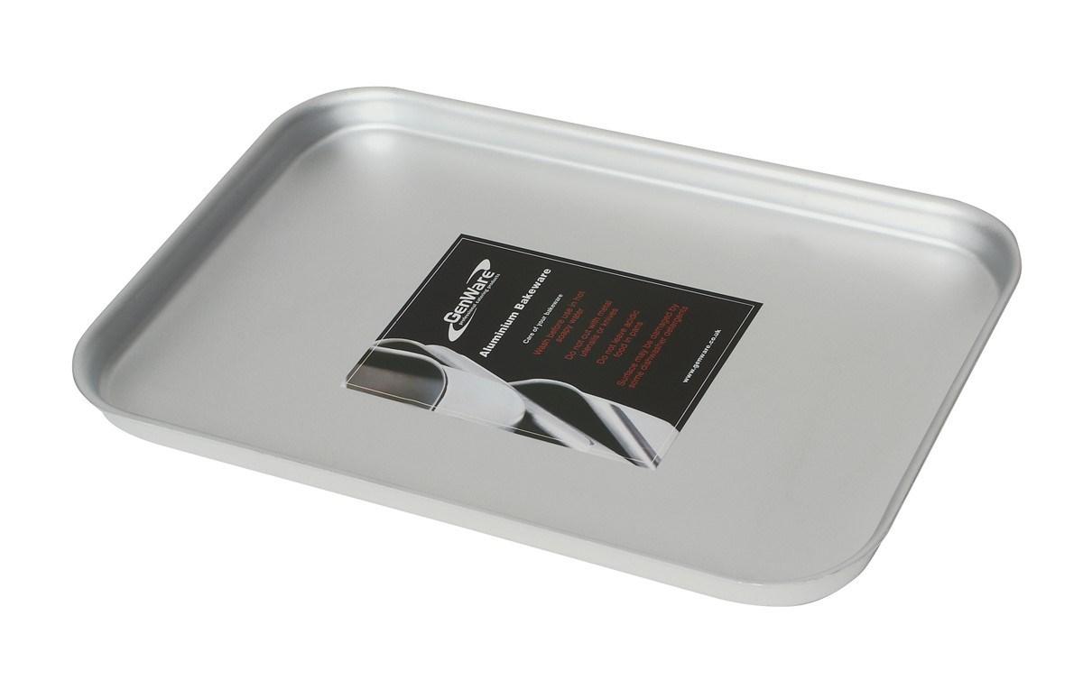 Productafbeelding Aluminium dienblad 37 x 26,5 x 2 cm