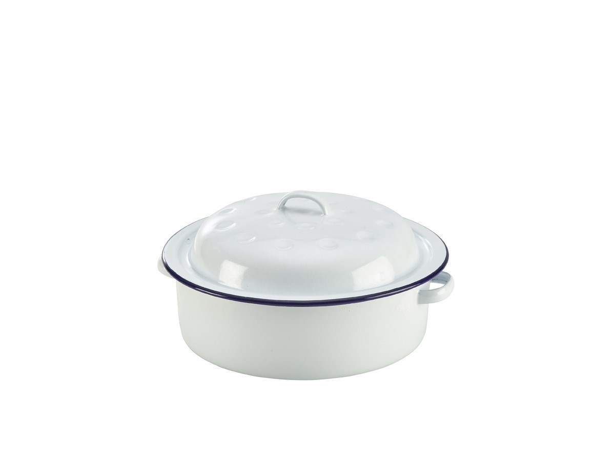 Productafbeelding Emaille serveerpan 20 cm