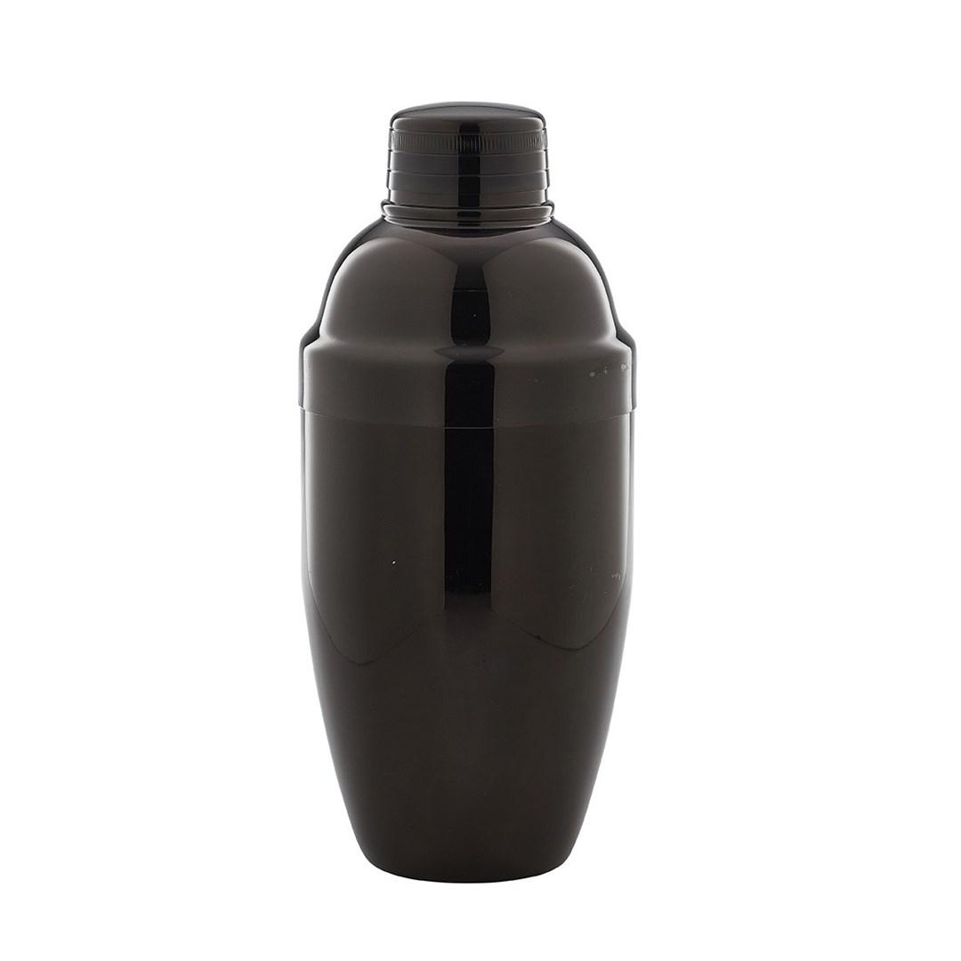 Productafbeelding Cobbler cocktailshaker gun metal zwart 500 ml