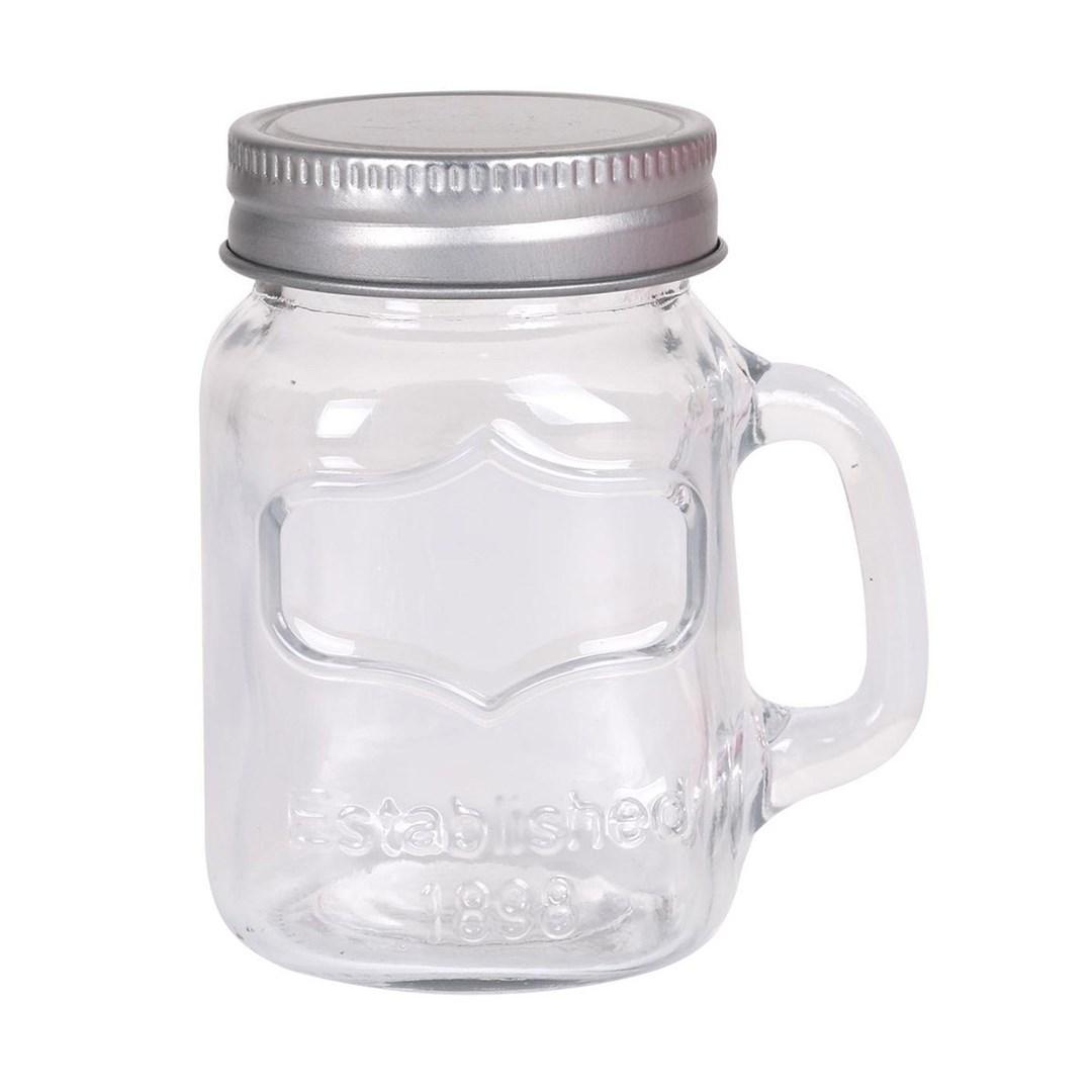 Productafbeelding Mini mason jars set 6st 100 ml