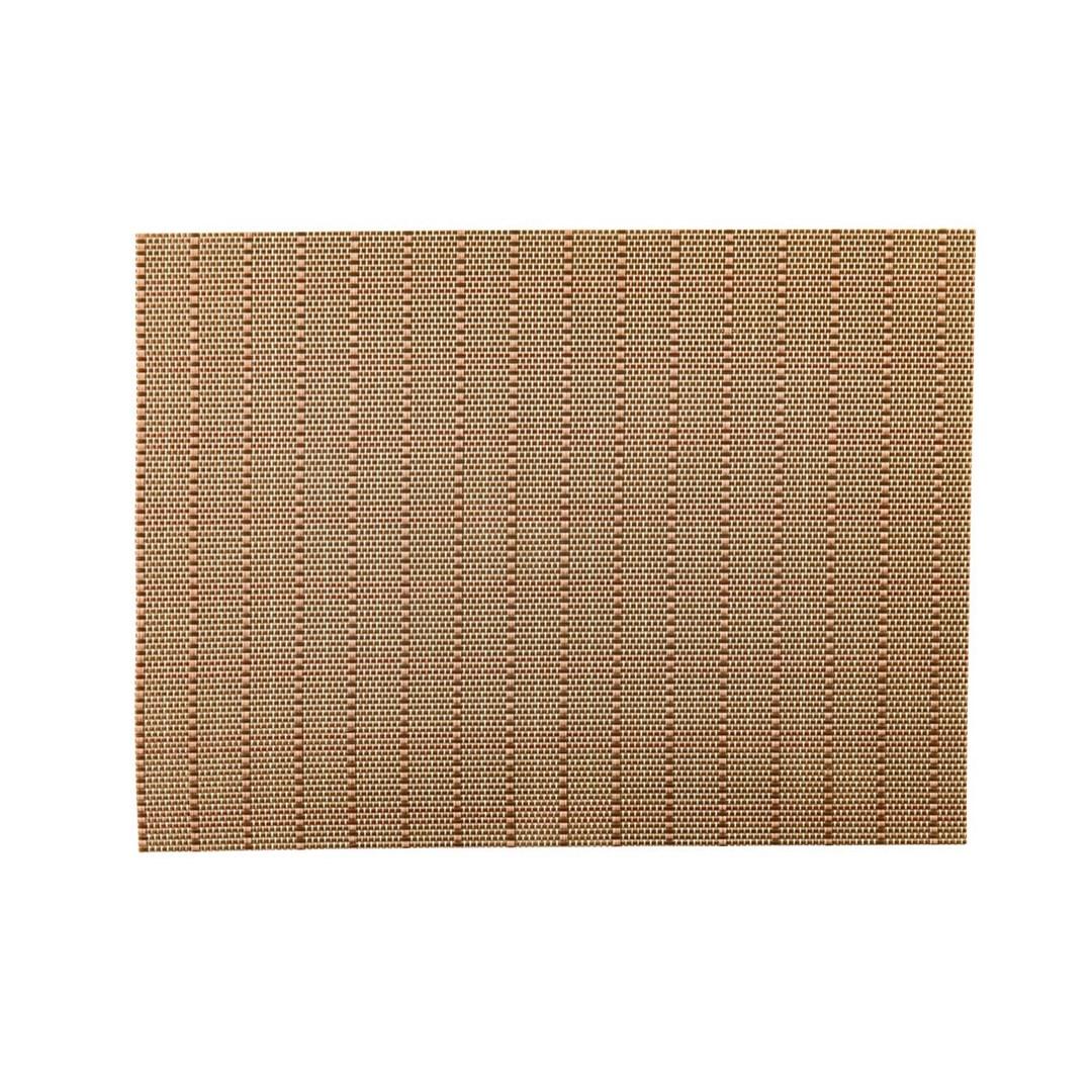 Productafbeelding Placemat rechthoekig Koper/Goud/Zilver 45 x 33 cm