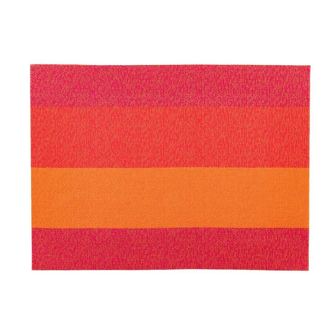 Productafbeelding Placemat rechthoekig Oranje/Rood/Roze 45 x 33 cm