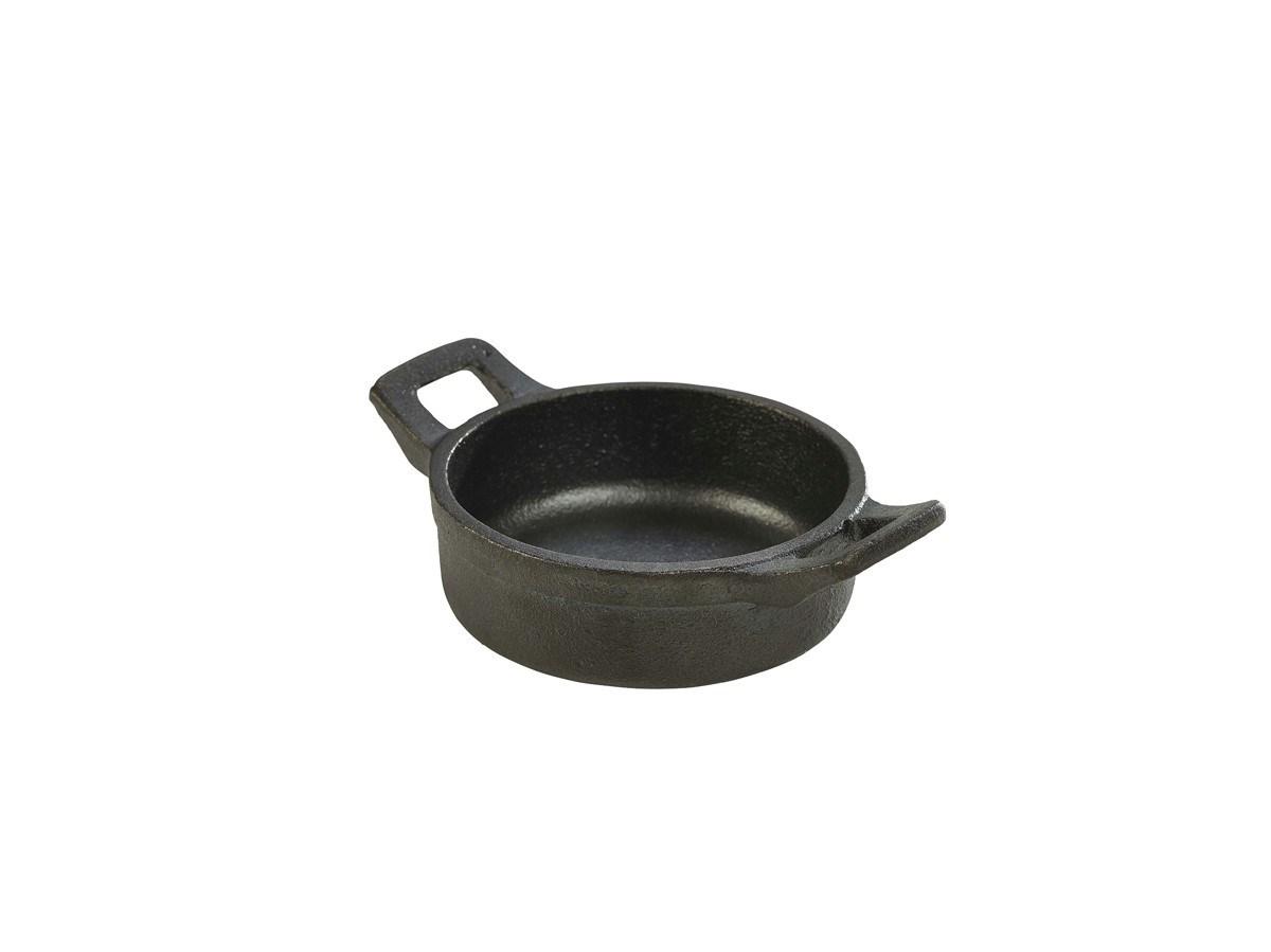 Productafbeelding Gietijzer mini pan rond met handvat 220 ml