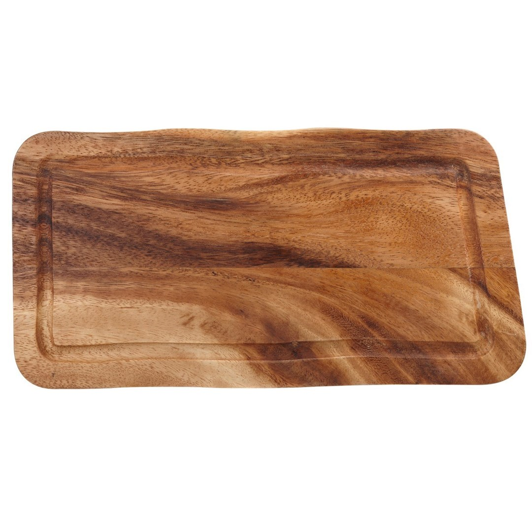 Productafbeelding Rechthoekige plank met gleuf 30 x 15 x 2 cm