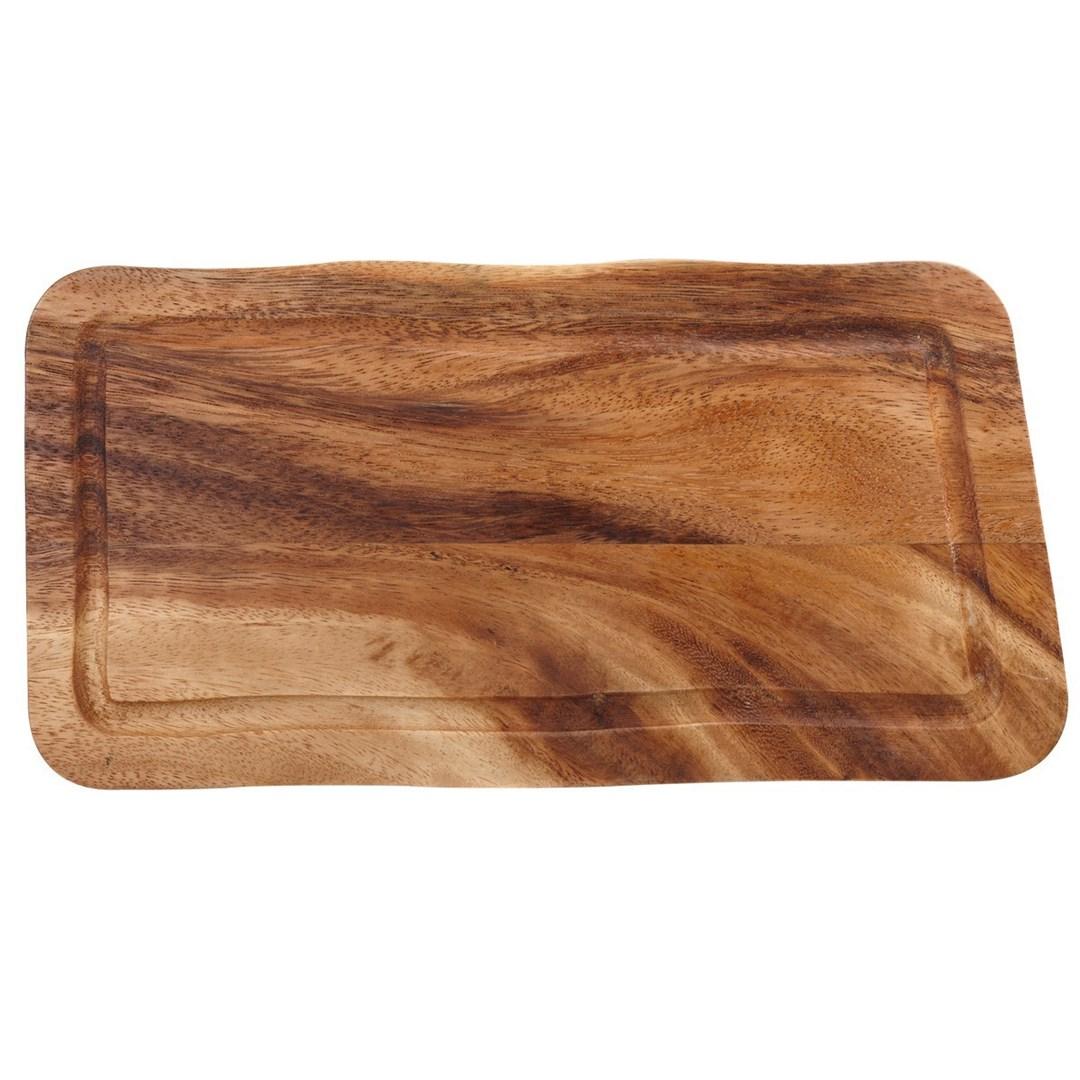 Productafbeelding Rechthoekige plank met gleuf 35 x 20 x 2 cm