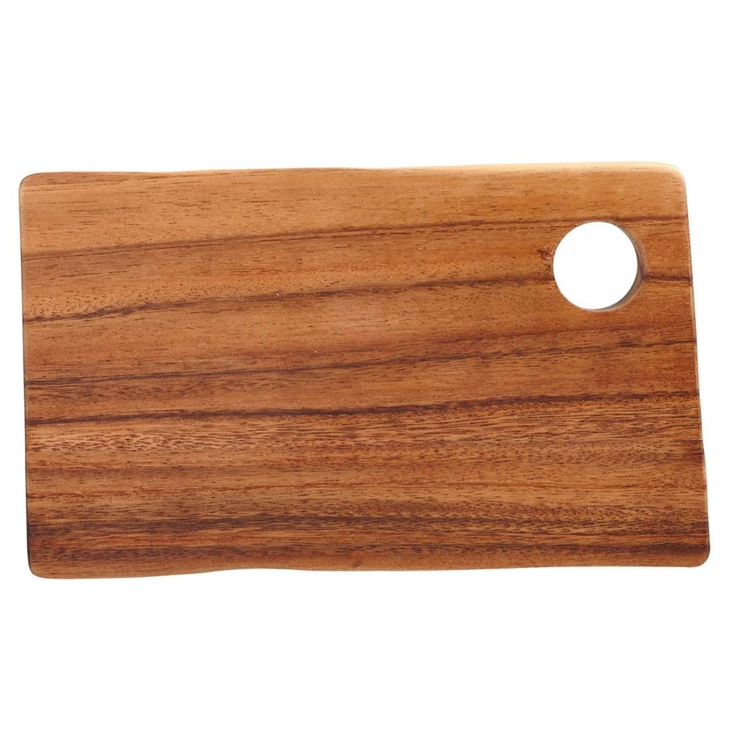 Productafbeelding Rechthoekige plank met gat 25 x 14 x 2 cm