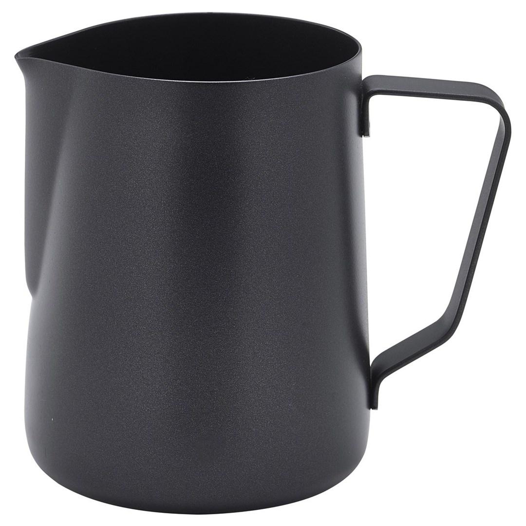 Productafbeelding RVS roomkan met non-stick coating zwart 340 ml