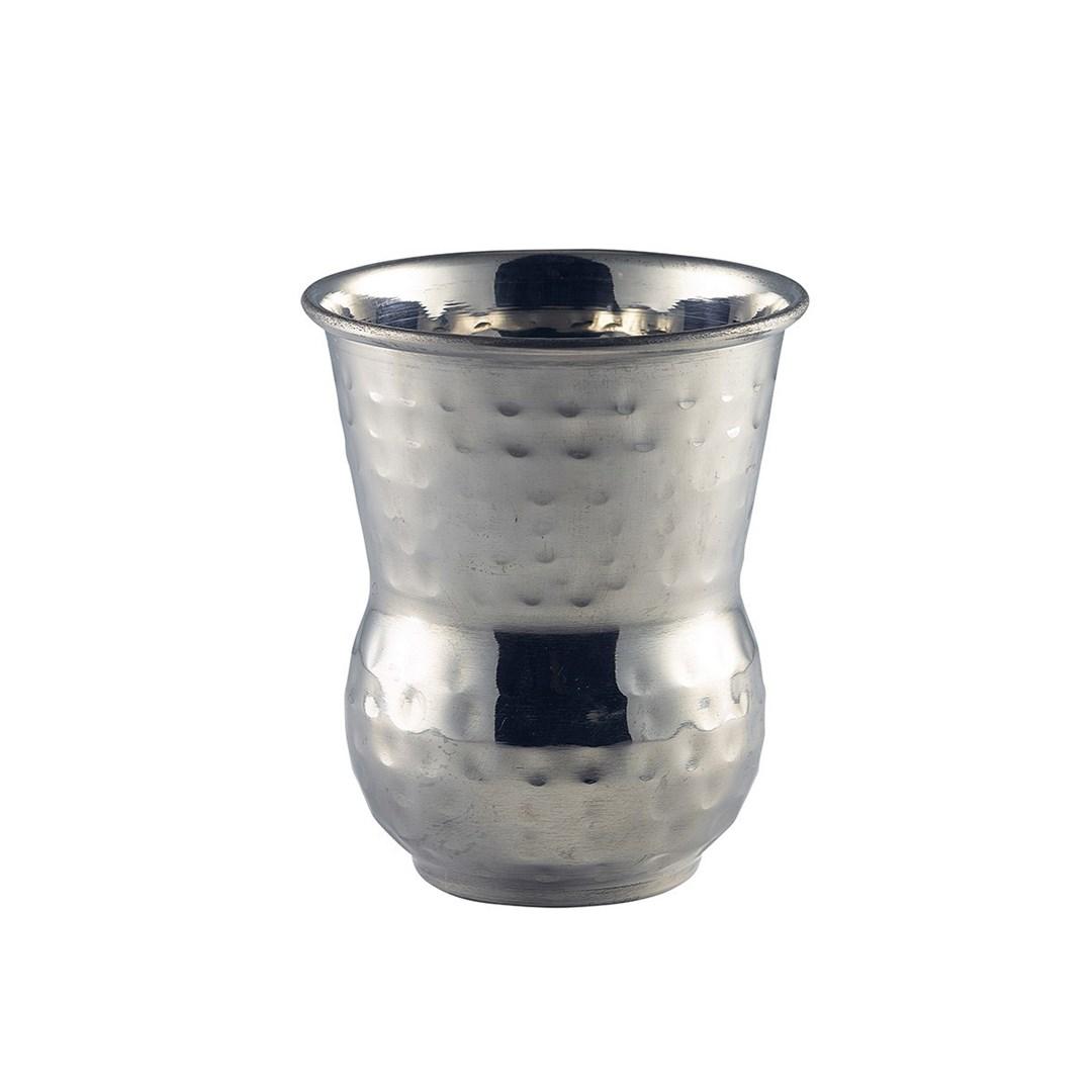 Productafbeelding Morrocan RVS beker gehamerd 400 ml