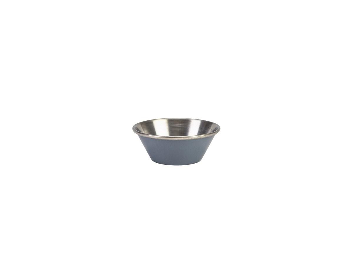 Productafbeelding RVS ramekin glad grijs 43 ml