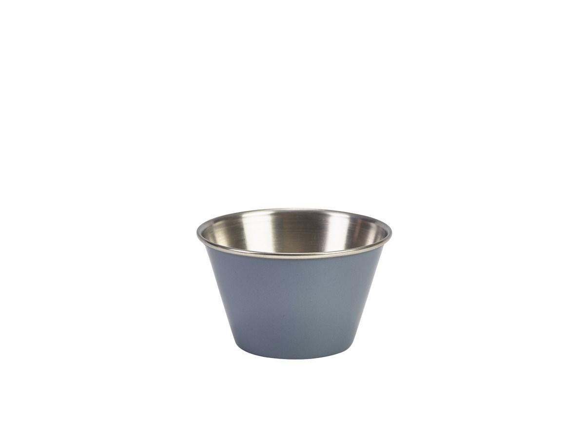 Productafbeelding RVS ramekin glad grijs 170 ml