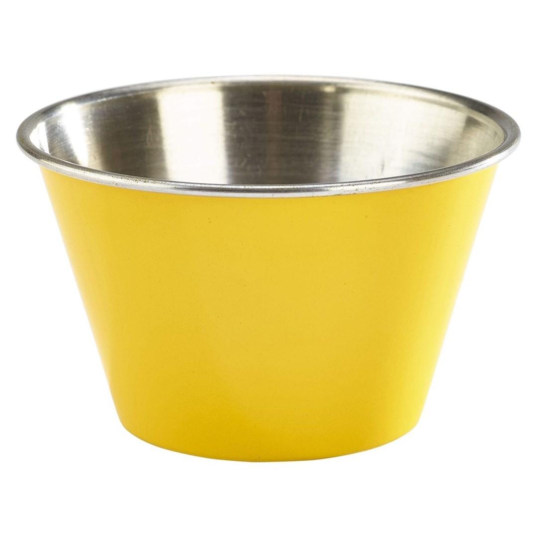 Productafbeelding RVS ramekin glad geel 170 ml