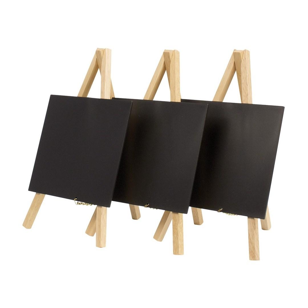 Productafbeelding Tafelkrijtbord beuken set 3st