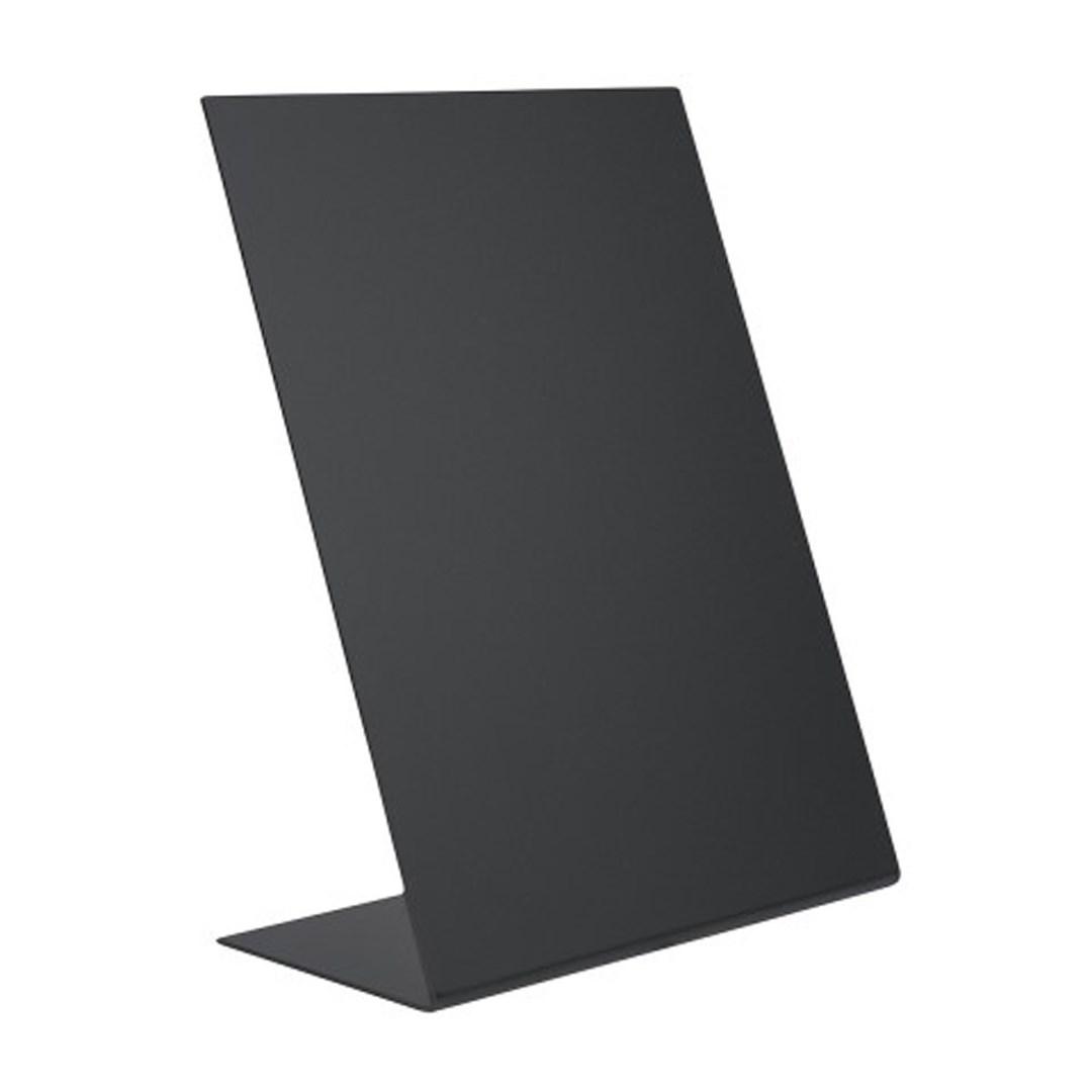 Productafbeelding Tafelkrijtbord L-vormig set 3st A6