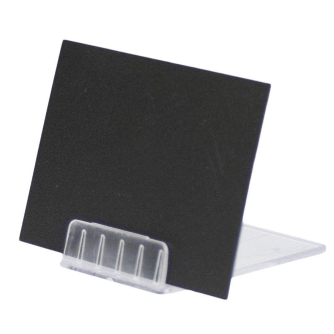 Productafbeelding Transparante houders voor krijtbordjes set 10st