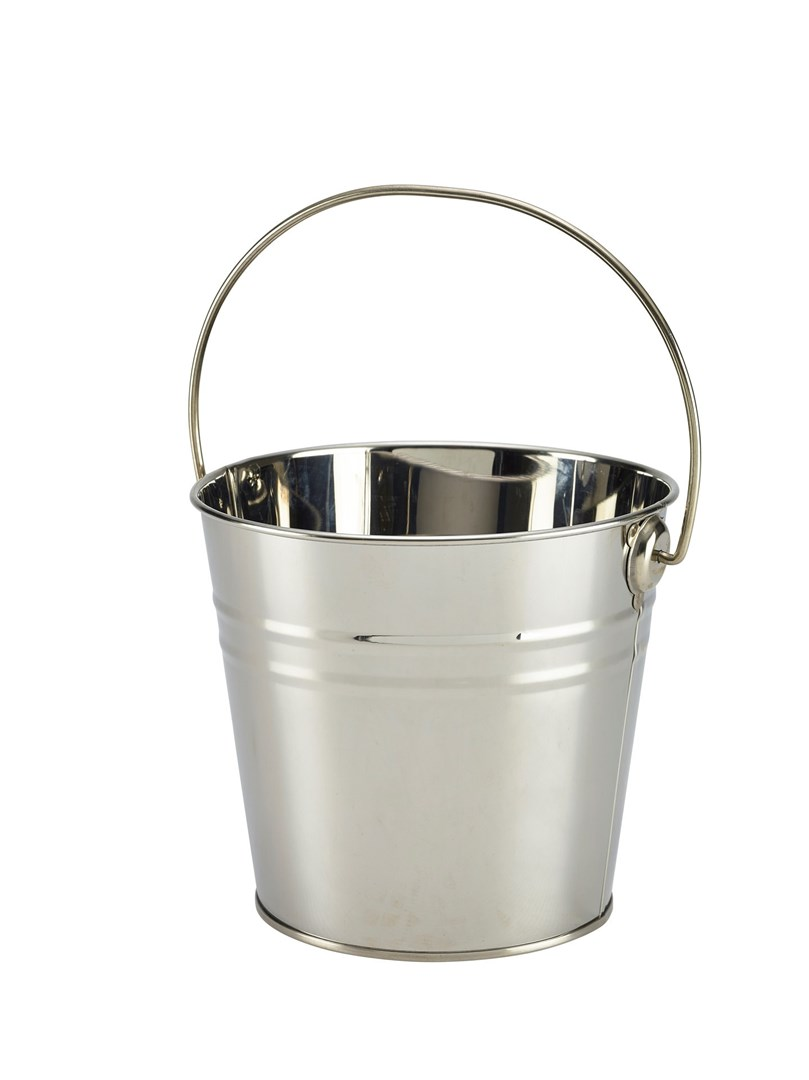Productafbeelding RVS sharing emmer medium zilver 16 cm