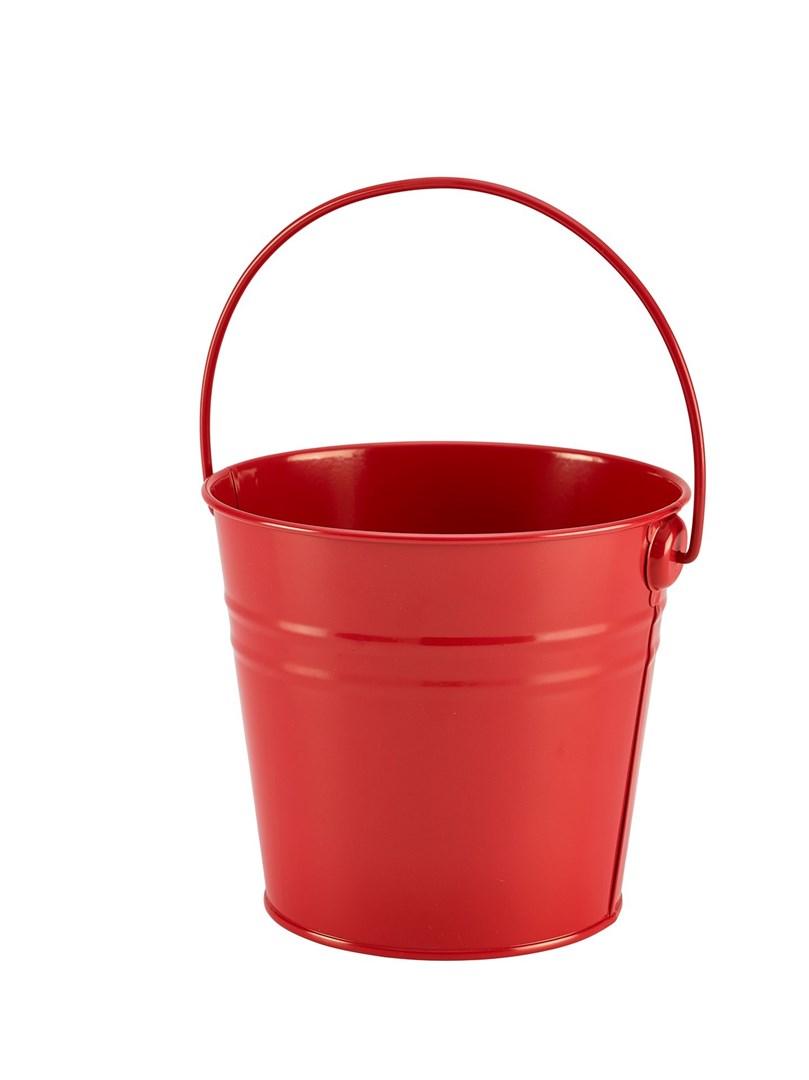 Productafbeelding RVS sharing emmer medium rood 16 cm