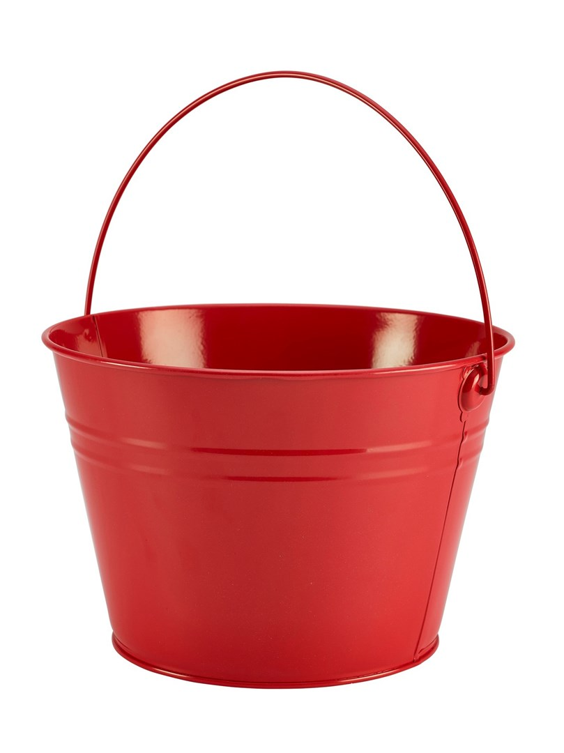 Productafbeelding RVS sharing emmer large rood 25 cm