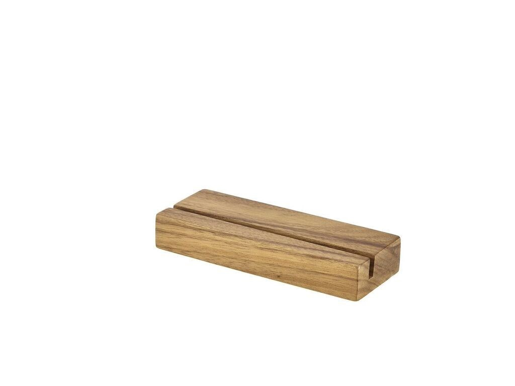 Productafbeelding Acacia hout menu houder 20x3.2x7.5