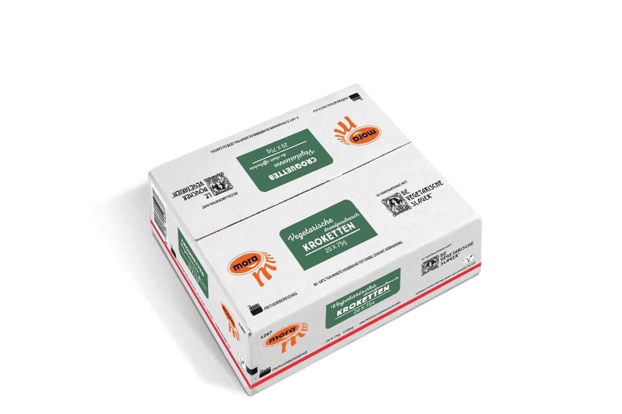 Productafbeelding 1287 Vegetarische Draadjesvleesch Kroketten 1500g