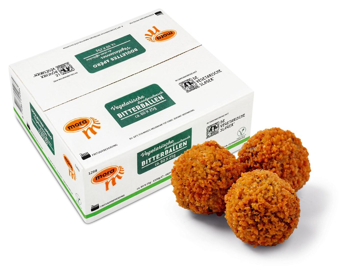 Productafbeelding 1288 Vegetarische Draadjesvleesch Bitterballen 1500g