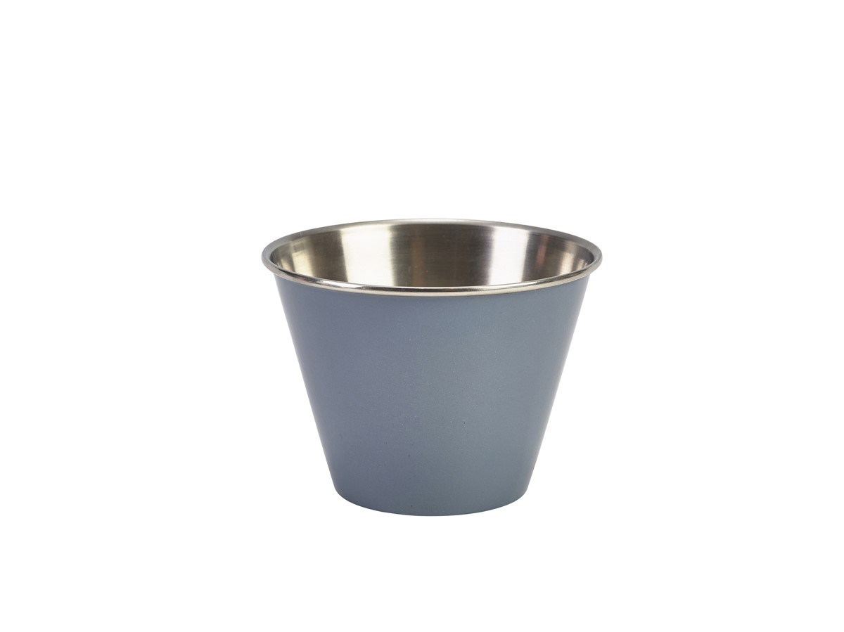 Productafbeelding RVS ramekin glad grijs 340 ml