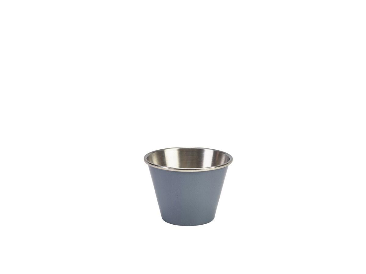 Productafbeelding RVS ramekin glad grijs 71 ml