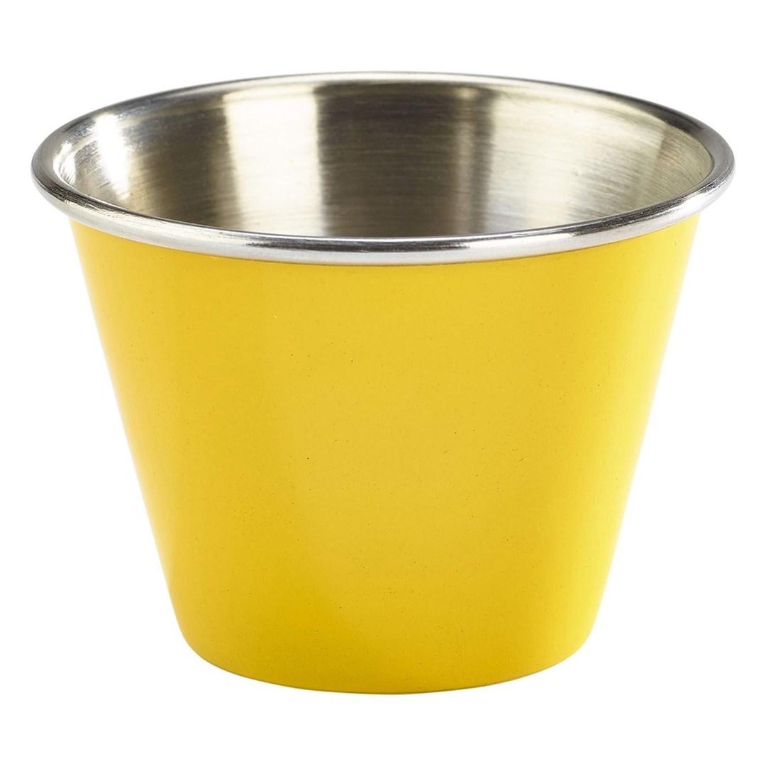 Productafbeelding RVS ramekin glad geel 71 ml